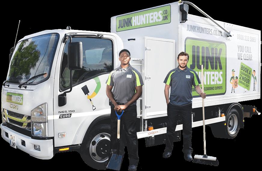 Junk hauling services